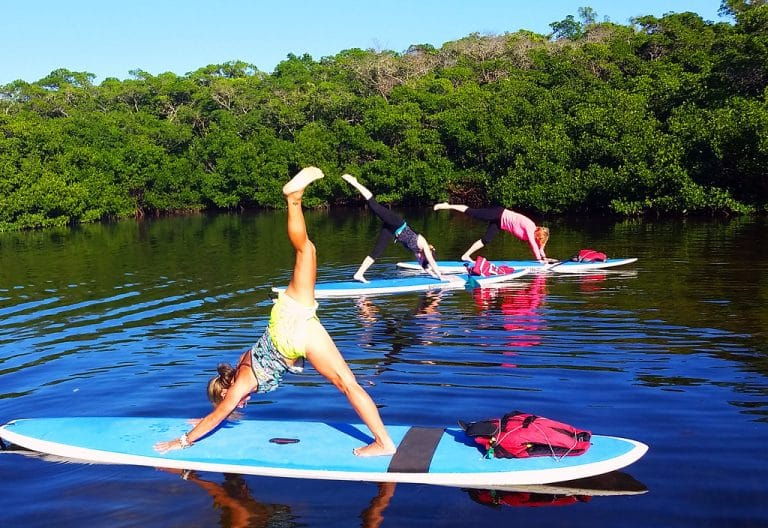 Best Stand Up Paddle Board For Yoga [5 SUPs for yoga]