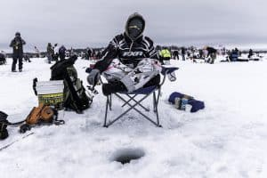ice fishing chair