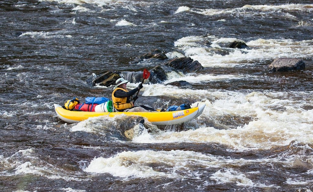 The best inflatable kayak on river