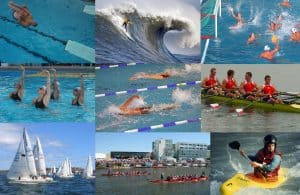 list of water sports
