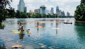 how to paddleboard