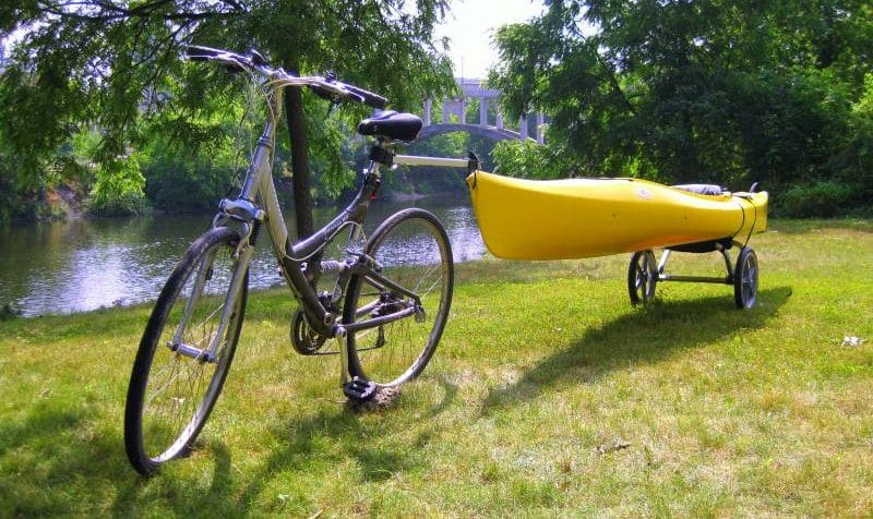Kayak Trolley and Dolly