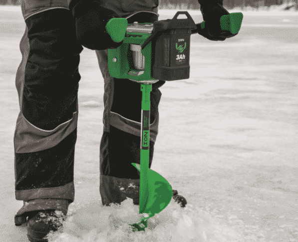 """ION 8"""" Lithium Ion Electric Ice Auger"""