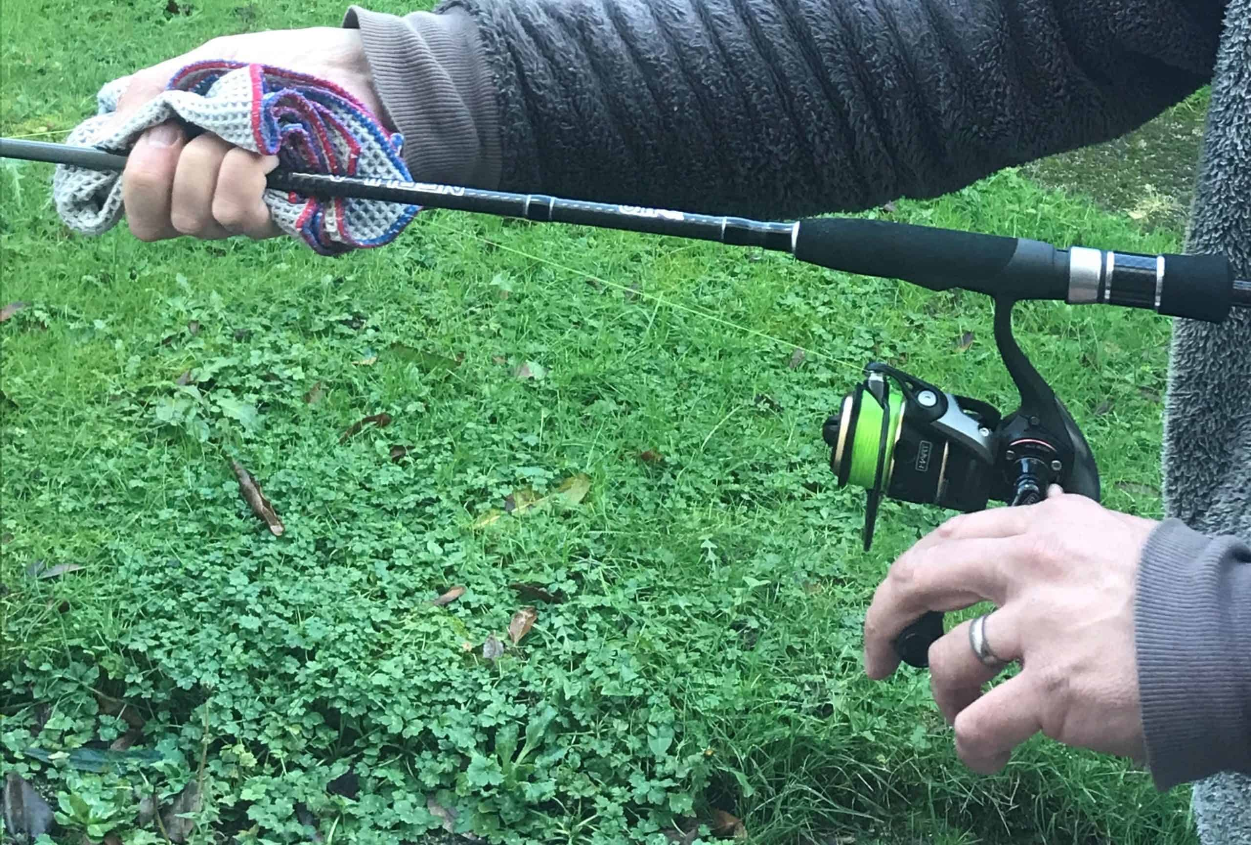 how to spool a reel