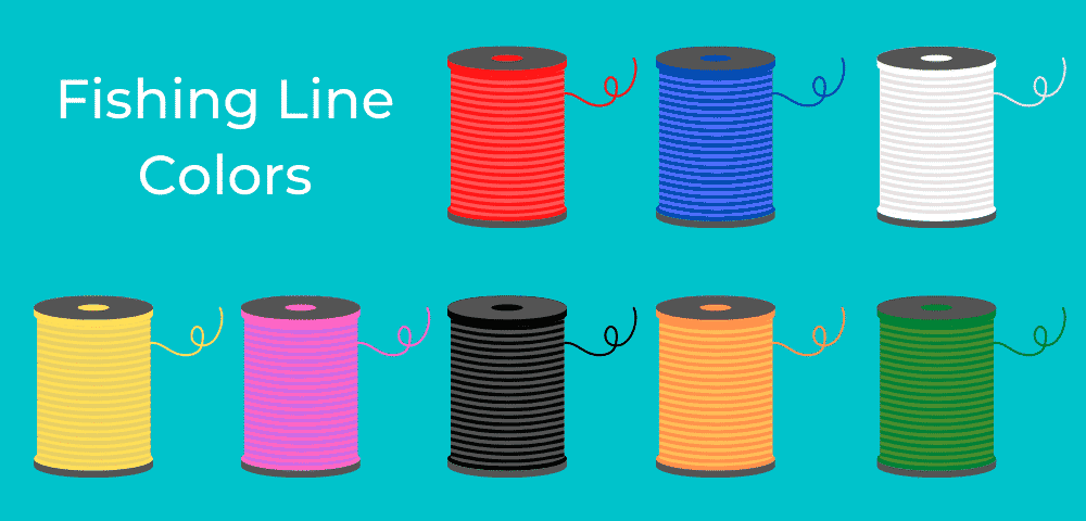 fishing line color