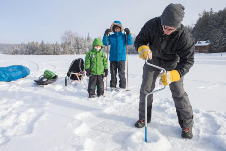 Safe Ice Fishing Ice Thickness