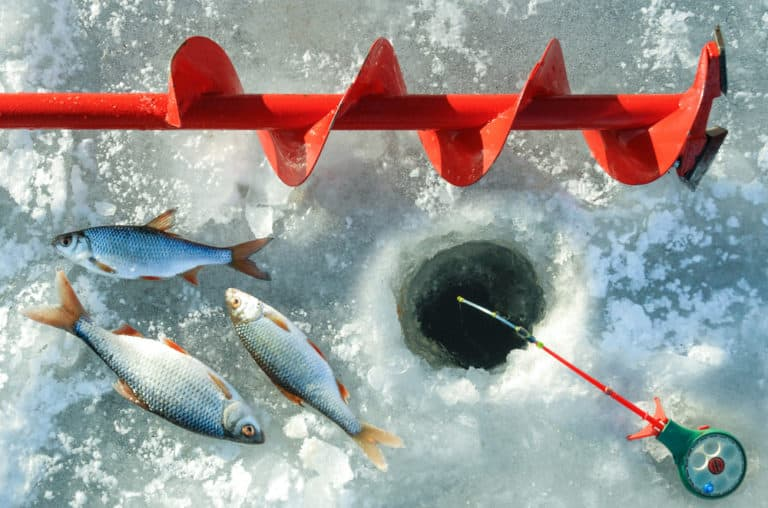 How Deep To Lower Your Line When Ice Fishing